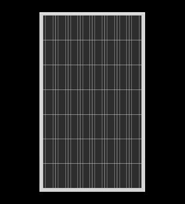 Polikristályos napelem